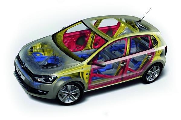 khung xe volkswagen polo sedan