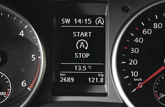start stop volkswagen passat